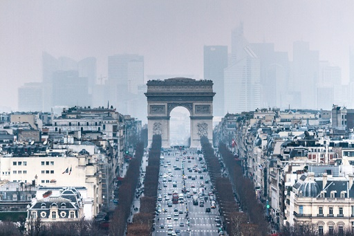 Arc de Triomphe & Champs Elysees