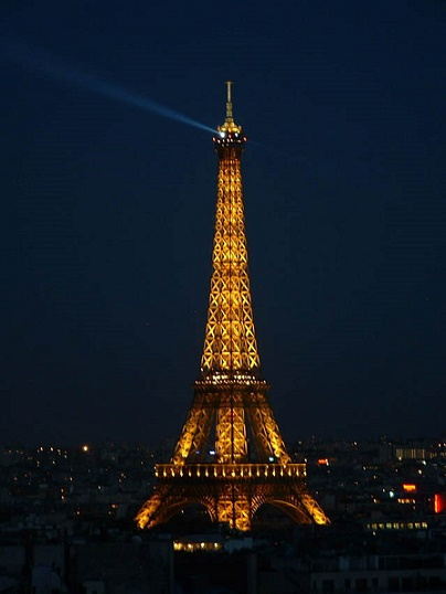 The eiffel tower is the top tourist attraction in paris for Hotels around eiffel tower