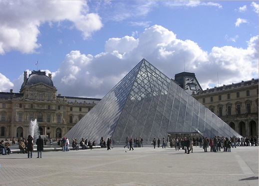 Pyramid at the Louvre Museum