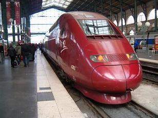 thalys in paris nord