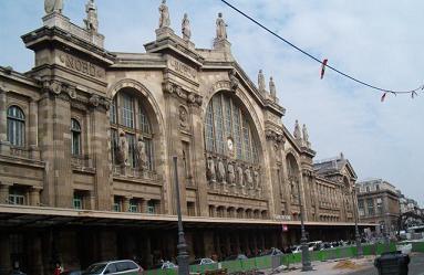 Gare du Nord in Paris